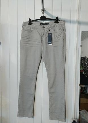 Женские брендовые джинсы оригинал s. oliver