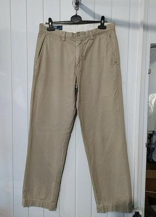 Брендовые мужские коттоновые брюки  polo by ralph lauren
