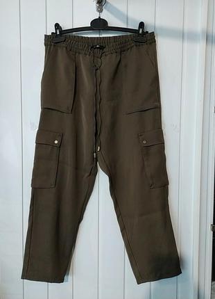 Женские укороченные брюки h&m
