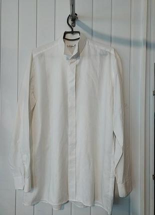 Шикарная мужская белая рубашка licona австрия
