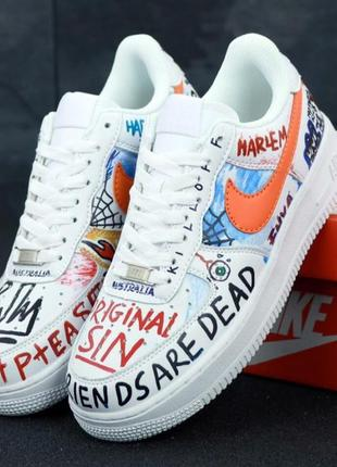 👟 мужские кроссовки pauly vlone x nike air force 1 low custom ...