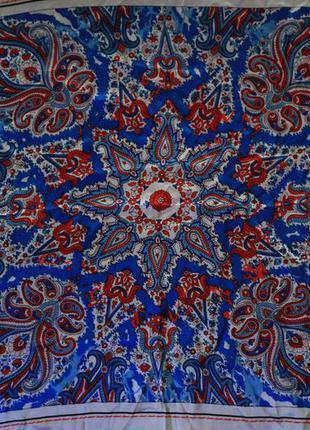 Шелковый шейный платок blue motion