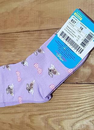 """Носки для девочки """"кролик"""", размер 16 / 3-4 года"""