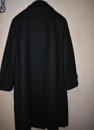 Винтажное шерстяное пальто