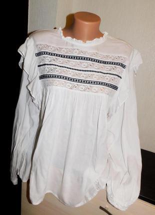 Летняя блуза h&m