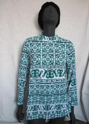 Блуза в красивый орнамент h&m