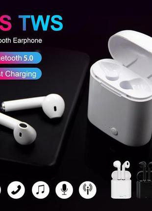 I7s TWS Беспроводные наушники 5.0 Bluetooth