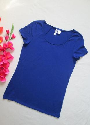Стрейчевая базовая футболка h&m