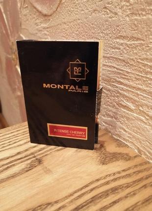 Montale intense cherry парфюмированная вода, пробник виалка