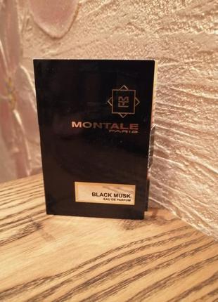 Montale black musk  парфюмированная вода , пробник виалка