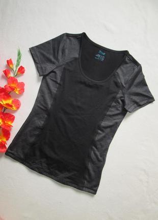 Спортивная футболка графит низ просиликоненный утяжка сетка  c...