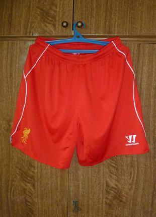 Шорты Warrior Liverpool Ливерпуль размер L