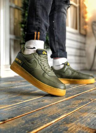 Nike air force 1 gore-tex, мужские кроссовки найк демисезон