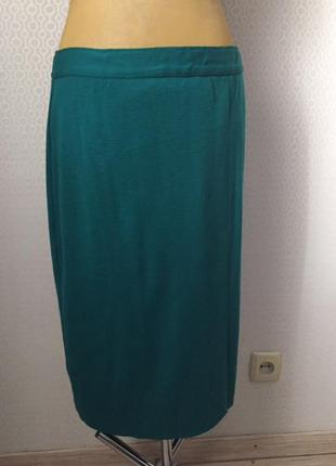 Трикотажная юбка карандаш яркого цвета, бренд lucia, размер ук...