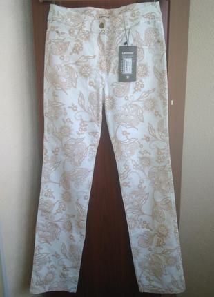 Женские брюки с бархатным рисунком