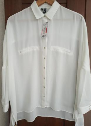 Рубашка/блуза mango оверсайз