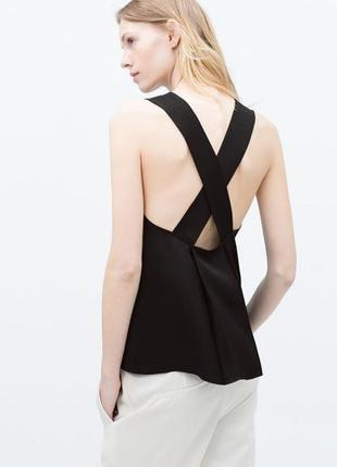 Эффектная вечерняя блуза zara