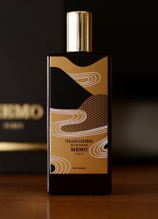 Memo Italian Leather_Оригинал Eau de Parfum 5 мл затест_Распив