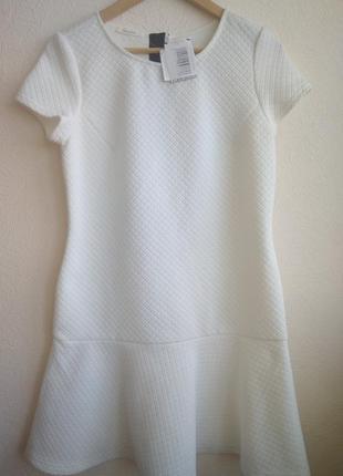 Красивое платье promod с оригинальной застежкой