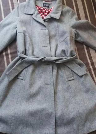 Теплое осеннее пальто oodji