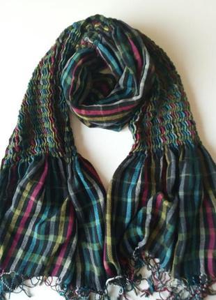 Радужный шарф