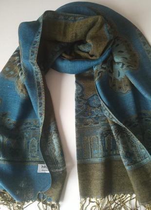 Красивый двухсторонний шарф