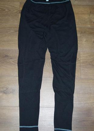 Спортивные утепленные брюки леггинсы высокая посадка  tcm