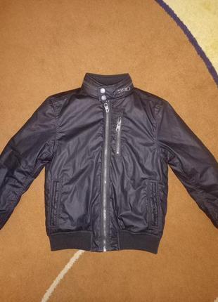 Куртка на холодную осень ранюю весну бомбер на мальчика