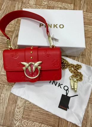 Женская сумка pinko mini пинко