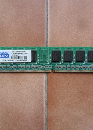 Память Goodram DDR 1Gb PC3200 400MHz