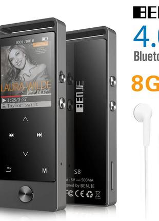 Hi-Fi-плеер BENJIE S5 S8 8 ГБ MP3 FLAC Bluetooth + ПОДАРКИ!