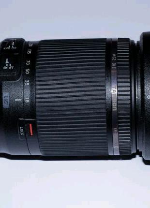 Объектив Tamron 18-200mm F/3.5-6.3 VC для Canon + СPL в подарок :