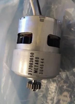 Двигатель шуруповерта метабо 317003650