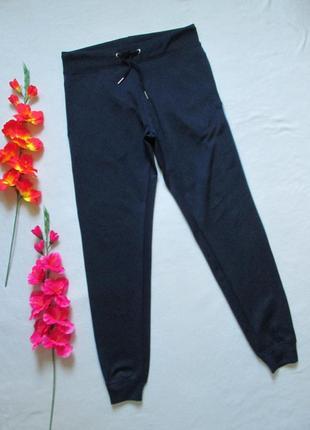 Суперовые эластиковые спортивные брюки с лампасами и манжетами...