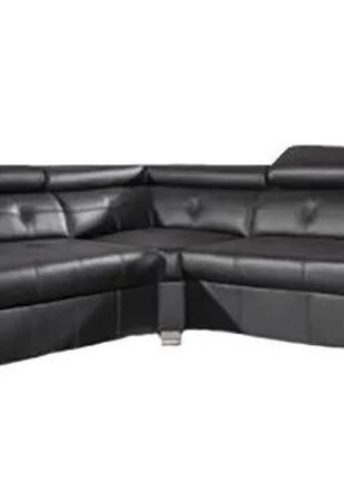 стильный угловой диван,кожаный уголок,шкіряний розкладний куток