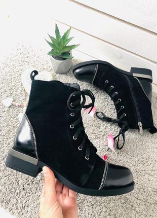 Lux обувь!❤️распродажа!36,40р натуральные женские ботинки на б...