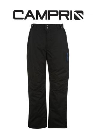 Утепленный, лыжный полукомбинезон , брюки, штаны campri