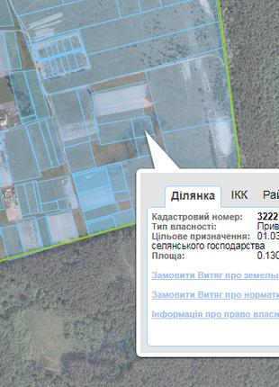 Продам приватизовану земельну ділянку площею 38 соток