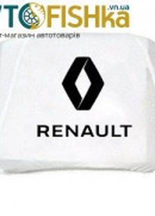 Чохли на підголовники Renault БІЛІ