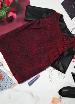 Блуза marks&spencer, размер 14/42, натуральная кожа