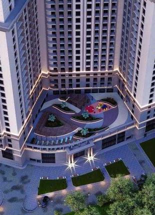 Однокомнатная смарт квартира в новом доме на 16-й фонтана
