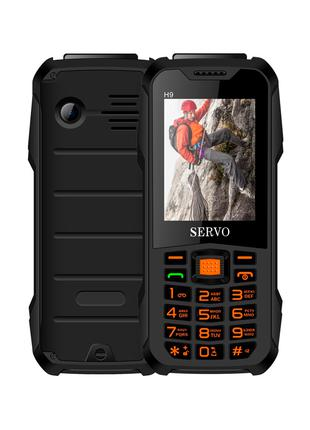 Мобильный телефон Servo H9 black батарея 4000 мАч
