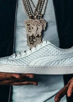 Кроссовки Puma,кожа оригинал из Америки