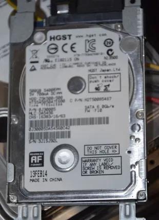 Жесткий диск 500GB Hitachi Z5K500 для ноутбука