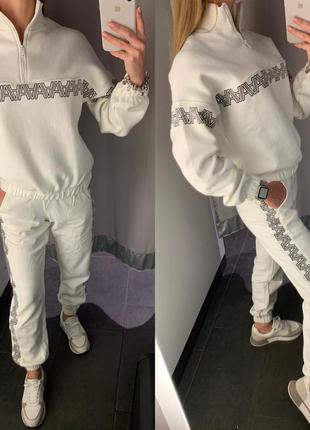 Утеплённые спортивные штаны джоггеры amisu есть размеры
