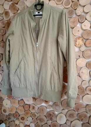 Куртка бомбер осень мужская