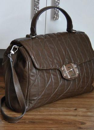 Кожаная сумка кожаный портфель st.james / шкіряна сумка