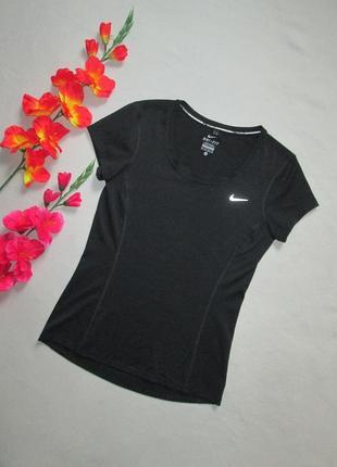 Фирменная спортивная футболка nike dri-fit оригинал.