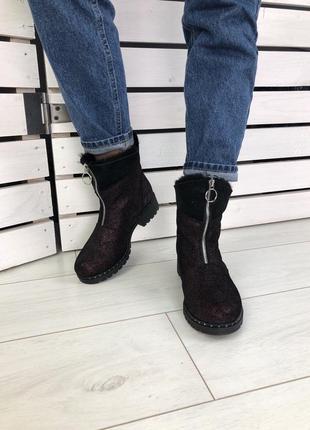 Lux обувь! распродажа❗️женские зимние сапоги ботинки угги на д...