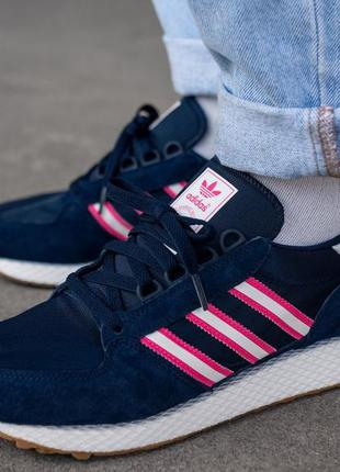 Adidas forest grove night indigo кроссовки обувь 42